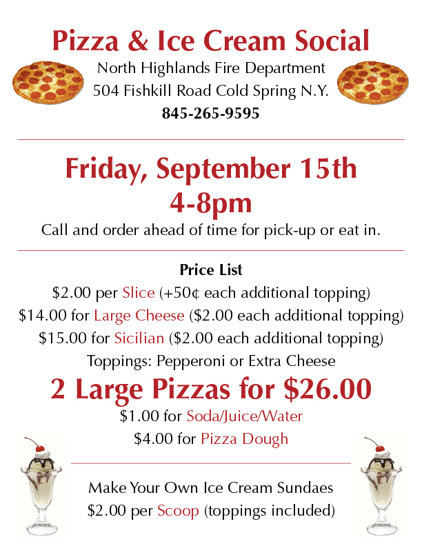 NHFD Pizza Sept 2017